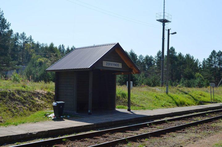 Zervynų geležinkelio stotelė